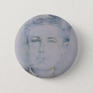 ARTHUR RIMBAUD - watercolor portrait.5 6 Cm Round Badge