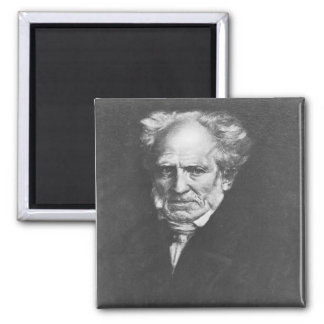 Arthur Schopenhauer Refrigerator Magnet