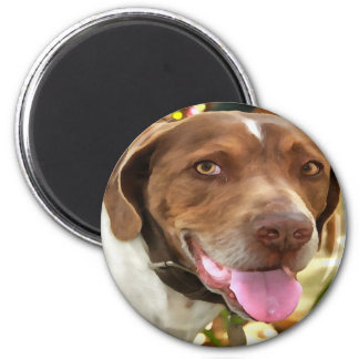 Arthur The Hunting Dog Magnet
