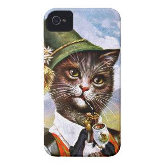 Arthur Thiele - Bavarian Alps Cat iPhone 4 Case