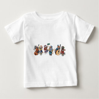 Arthur Thiele - Cats Playing Musical Instruments Baby T-Shirt
