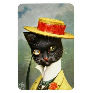 Arthur Thiele - Mr. Cat Rectangular Photo Magnet