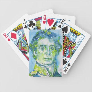 arthur wellesley ,1st duke of wellington bicycle playing cards