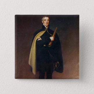 Arthur Wellesley  Duke of Wellington 15 Cm Square Badge