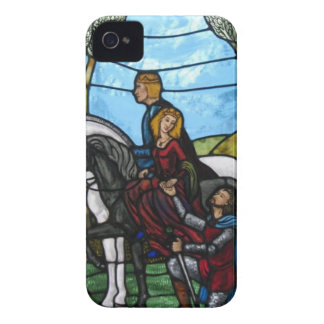 Arthurian Window iPhone 4 Cover