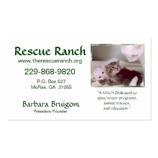 Artic & babes 2 frms, Rescue Ranch, Rescue ... Pack Of Standard Business Cards