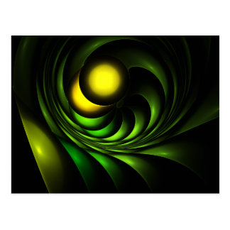 Artichoke Abstract Fractal Artwork Post Cards