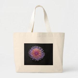Artichoke blossom jumbo tote bag