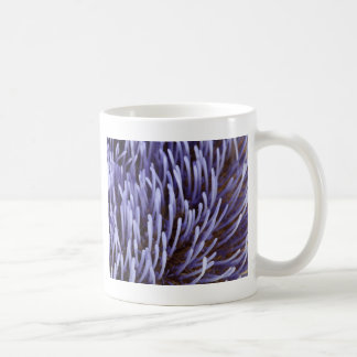 Artichoke flower coffee mug