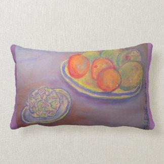 Artichoke, Oranges and Mangoes American MoJo Pillo Throw Cushion