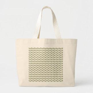 Artichoke pattern large tote bag
