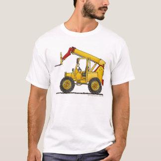 Articulating Boom Lift Construction Apparel T-Shirt