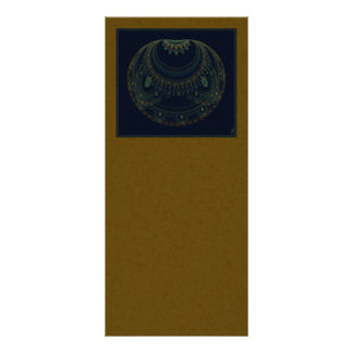 Artifact Abstract Art Custom Rack Card