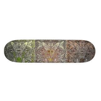 artifacts - 3 wise men test deck skateboard deck