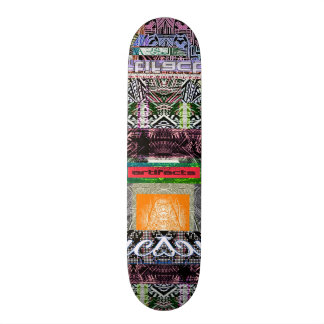 artifacts - demon without boarders vers 2 19.7 cm skateboard deck