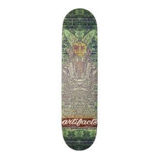artifacts - green wiseman test deck skate decks