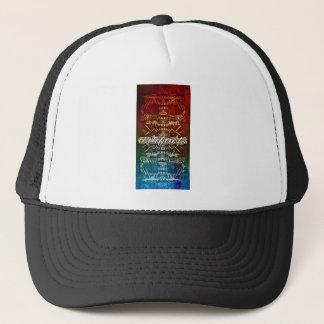 *artifacts-maze skull trucker hat