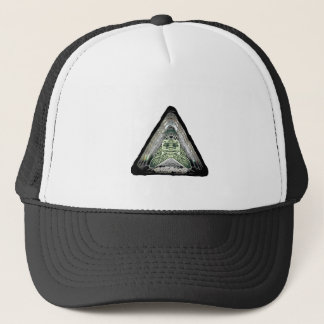 artifacts - supafly sir real, the bumble moth trucker hat