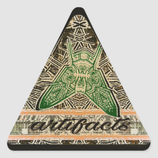 artifacts - tri fly var 9 triangle sticker