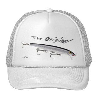 Artificial Bait, Tackle, Fishing Gear Trucker Hat