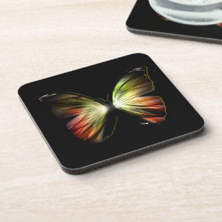 Artificial Butterfly Coasters (set of 6)