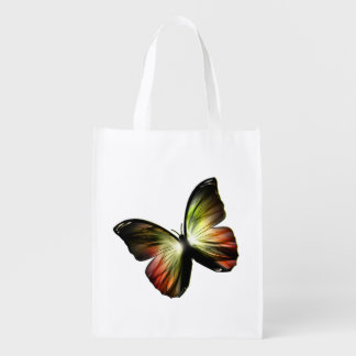 Artificial Butterfly Reusable Grocery Bag