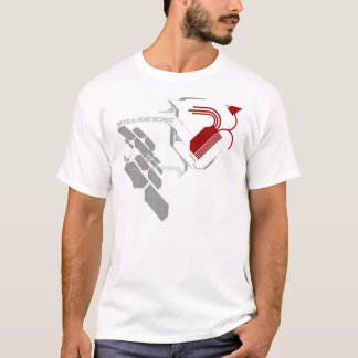 artificial heart transplant white T-Shirt