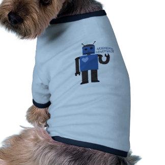 Artificial Heartthrob Ringer Dog Shirt