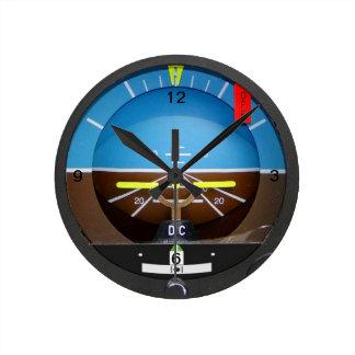 Artificial Horizon Clock