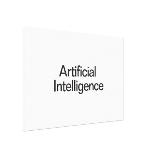Artificial Intelligence Stretched Canvas Prints