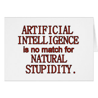 Artificial intelligence card