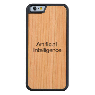 Artificial Intelligence Carved® Cherry iPhone 6 Bumper