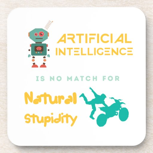 Artificial Intelligence Drink Coasters