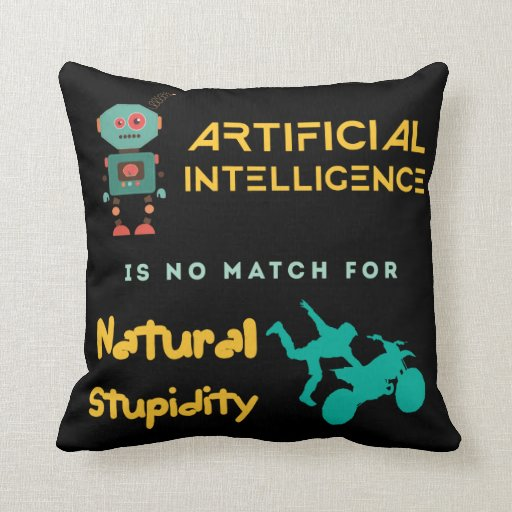 Artificial Intelligence Pillow
