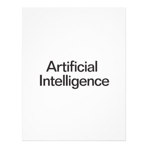 Artificial Intelligence Flyer