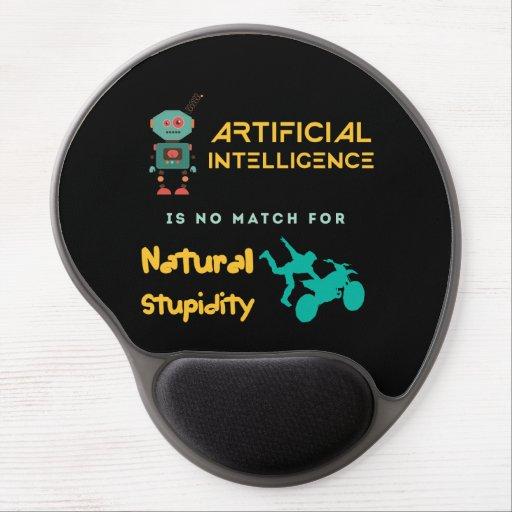 Artificial Intelligence Gel Mousepads
