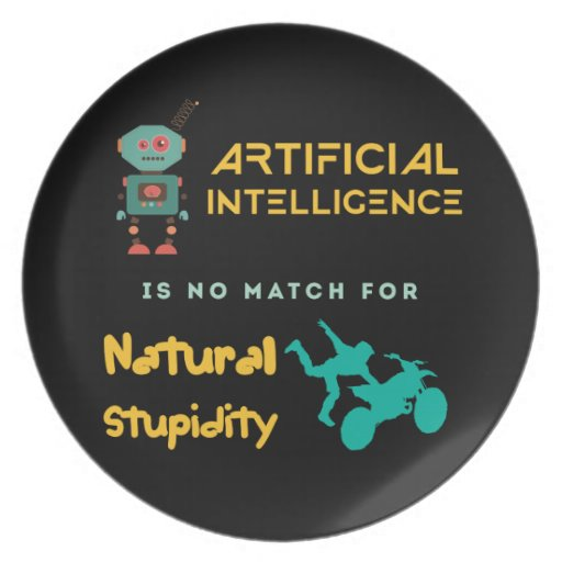 Artificial Intelligence Plate