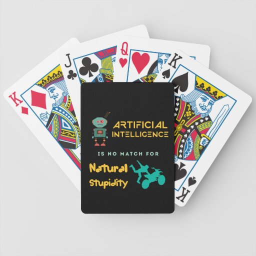 Artificial Intelligence Bicycle Poker Cards