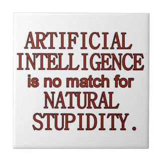 Artificial intelligence tile
