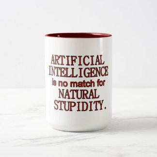 Artificial intelligence Two-Tone mug