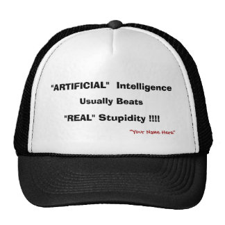 """ARTIFICIAL""  Intelligence, Usually Beats, ""REA... Cap"