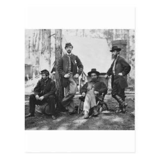 Artillery Brigade, 3rd Corps at Brandy Station Postcard