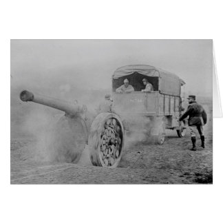 Artillery World War 1, France Card