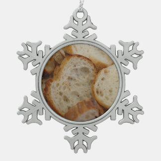 Artisan Bread Slices Ornaments
