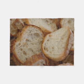 Artisan Bread Slices Fleece Blanket