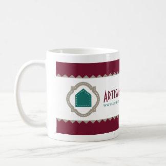 Artisan Business Branding Basic White Mug