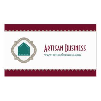 Artisan Business Customizable Pack Of Standard Business Cards