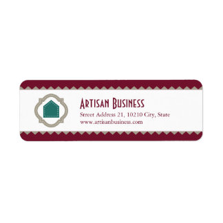 Artisan Business Return Address Label