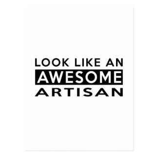 ARTISAN Designs Postcard