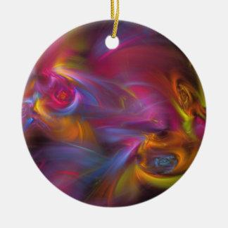 Artisan Fractal Christmas Tree Ornament
